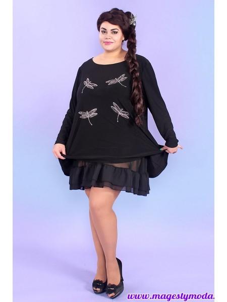 6d318cad Купить Платье-туника Стрекозы фирмы Турция в интернет-магазине ...