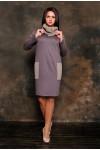 Платье 1235 коричневый