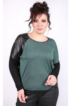 Блузка Юнона (зеленый)