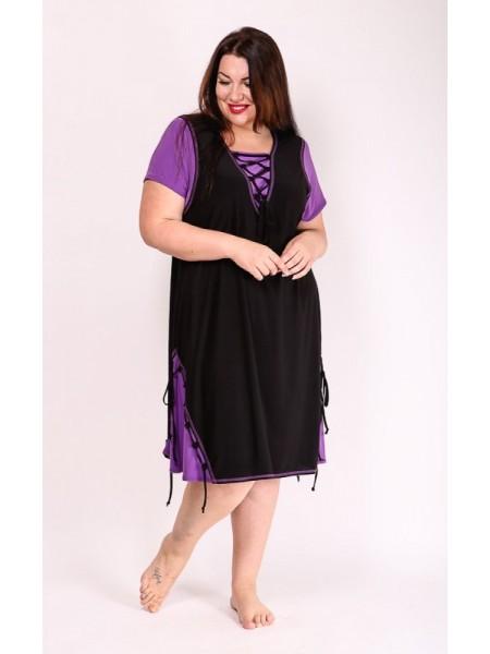 Платье Агния (сирень)
