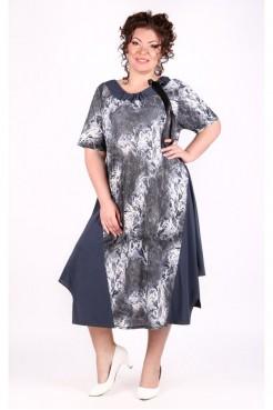 Платье Кассандра (серый)