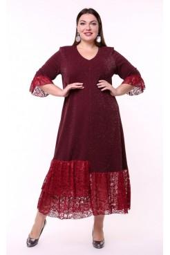 Платье Клеопатра (бордо)