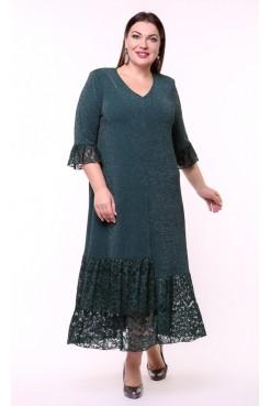 Платье Клеопатра (зеленый)
