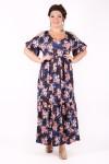 Платье Лилия (мелкие розы)