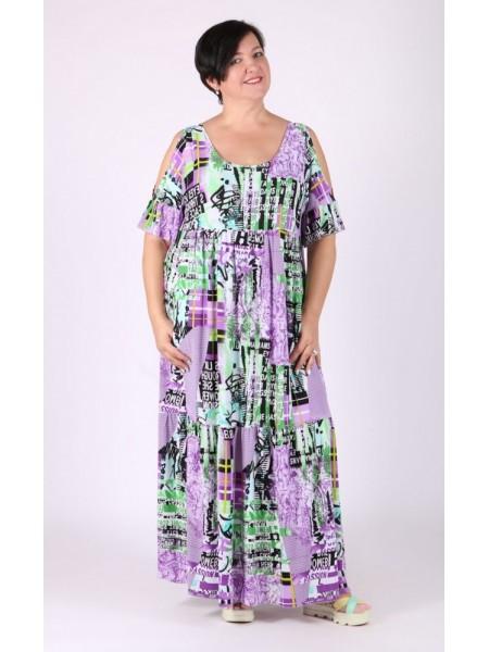 Платье Лилия (сирень)