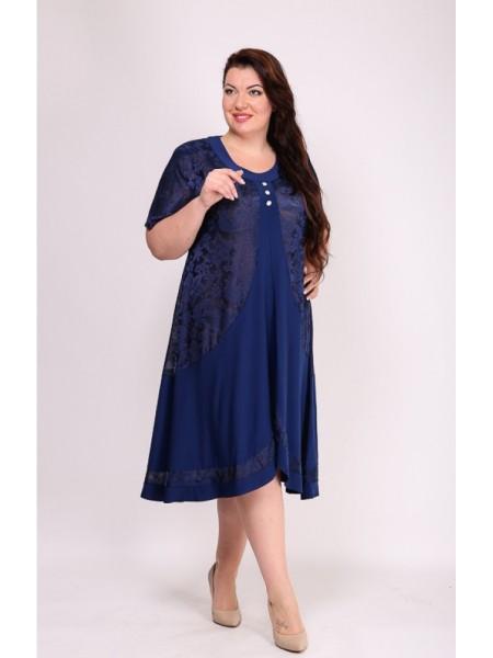 Платье Мечта (синий)