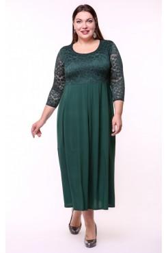 Платье Триумф (зеленый)