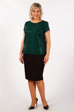 Блузка Бэль (зеленый)