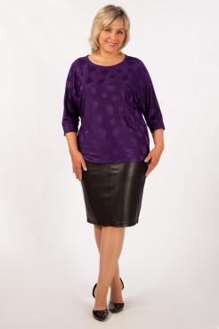 Блузка Дейзи (фиолетовый)