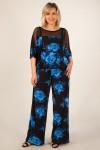 Комбинезон Николь (цветы синие)