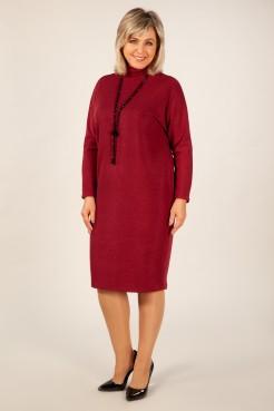 Платье Амаретто (бордо)