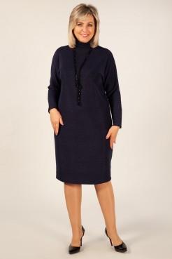 Платье Амаретто (темно синий)