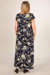 Платье Анджелина (желтый/синий темный)