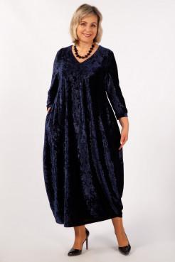 Платье Дорети (чернильный)