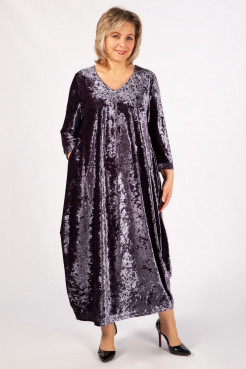 Платье Дорети (серый)