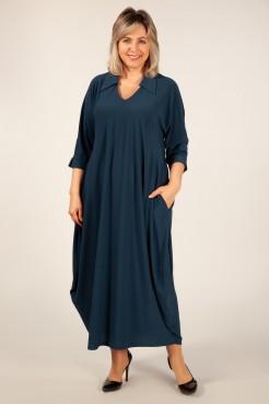 Платье Эмили (темно бирюзовый)