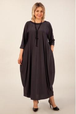 Платье Эвита (антрацит)