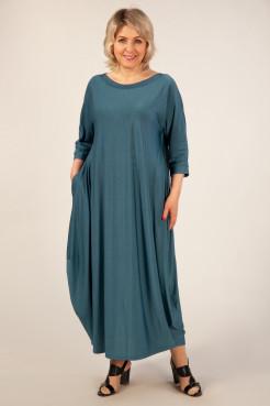 Платье Эвита (темно голубой)