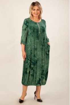 Платье Инга (зеленый)