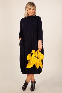 Платье Ирина (темно синий)