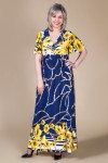 Платье Клеопатра (цветы желтые)