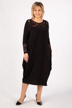 Платье Ксения (черный)