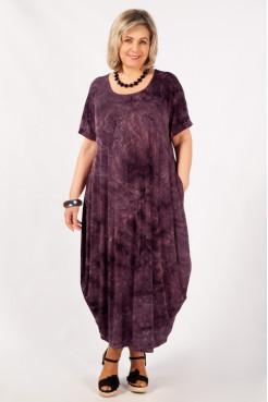 Платье Лори-2 (баклажан)