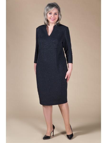 Платье Людмила (черный)