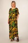 Платье Мальта (черный/желтый)