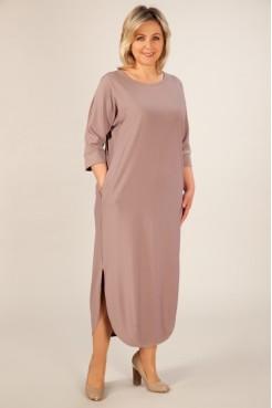 Платье Мона (бежевый)
