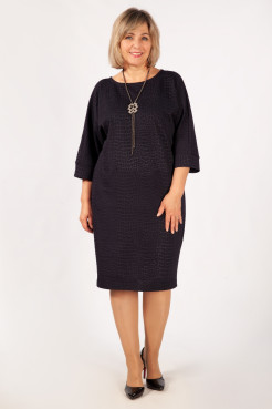 Платье Виола (темно-синий)