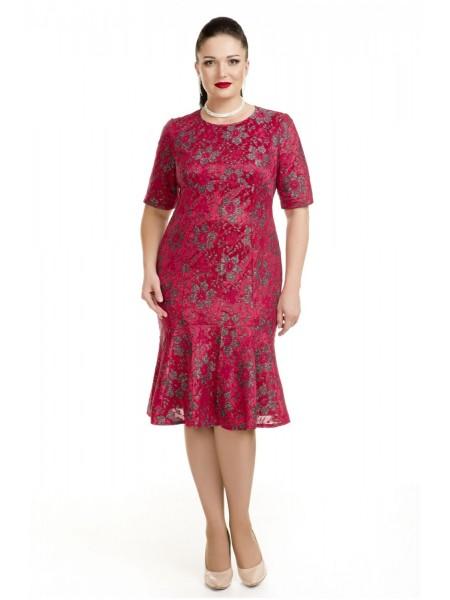 Платье 2899 красный
