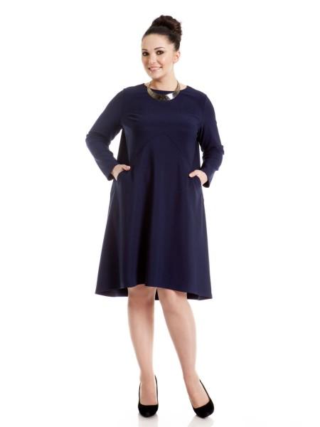Платье 2962 синий