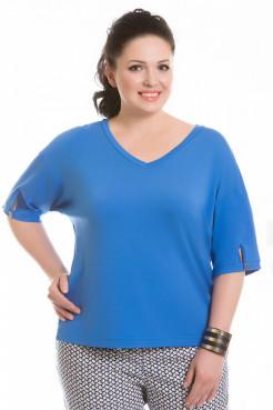 Блузка 4128 (голубой)