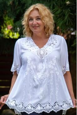 Блузка Тера (белый)