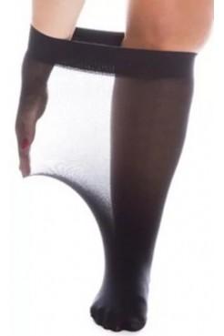Гольфы женские Plus size 30 (черный)