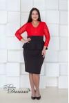 Платье Николь Н005 (красный)