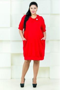 Платье Стелла С004 (красный)