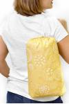 Покрывало пляжное mini (Желтый коралл 11254)