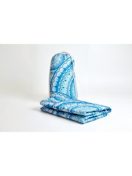 Покрывало пляжное mini (Синие волны 11259)