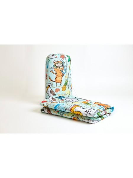 Покрывало пляжное mini (Веселые коты 11260)