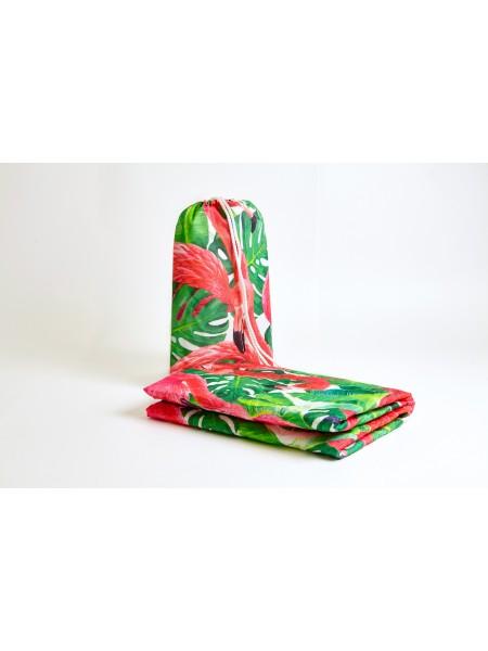 Покрывало пляжное mini (Фламинго 11300)