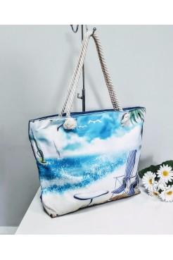 Пляжная сумка Море
